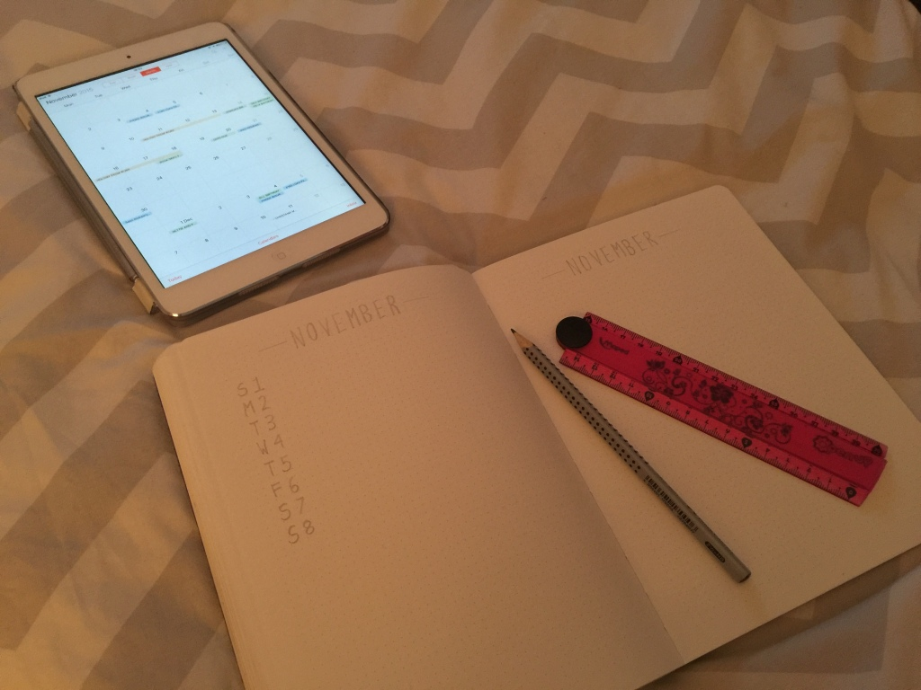 November Setup 3 Writing a Month | November 2015