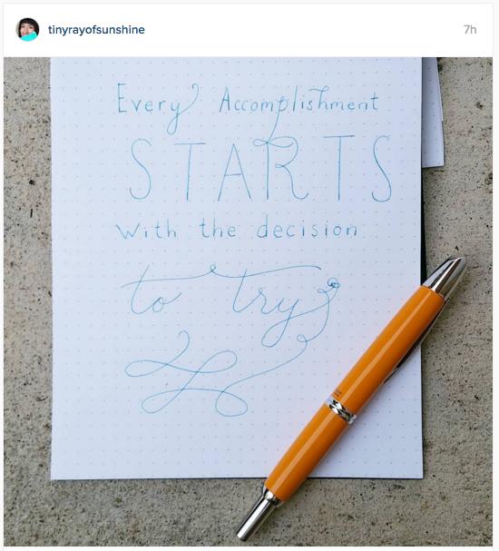 tinyrayofsunshine Instagram | November 2015