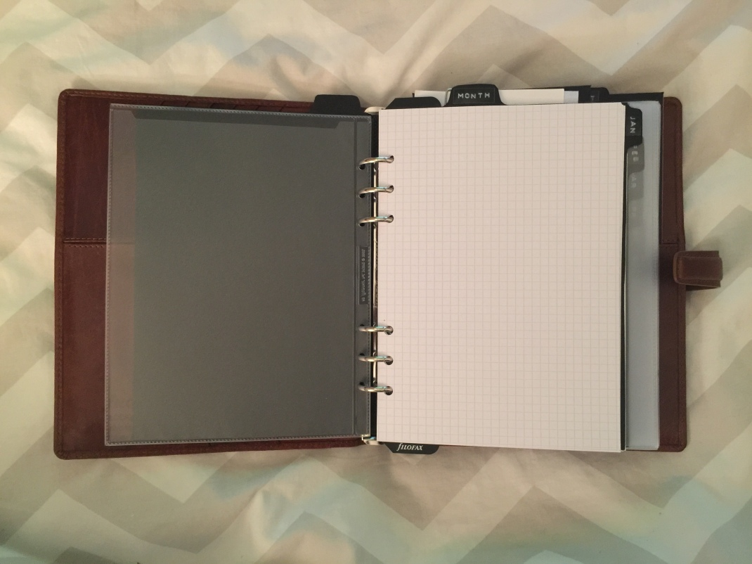 Filofax Monthly Example