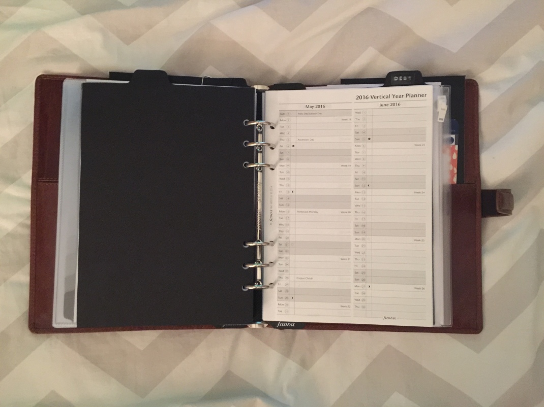 Filofax Yearly
