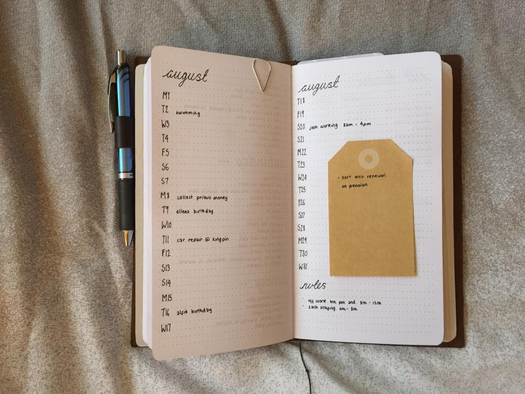Midori Bullet Journal 14 | SoSteffSo