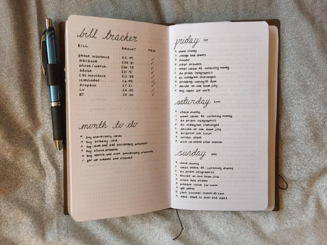 Midori Bullet Journal 5 | SoSteffSo